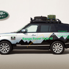 Jaguar Land Rover just released its first hybrid - the Range Rover Hybrid