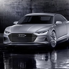 The Prologue already features several design cues of the future Audi A9 which has launch scheduled for 2016