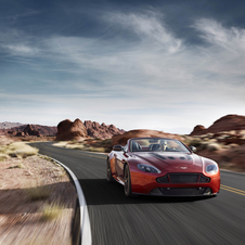 The new addition to the Vantage range shares its mechanical characteristics with the coupe variant,