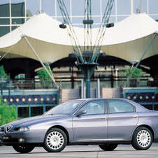 Alfa Romeo 166 3.2 V6 24v Distinctive