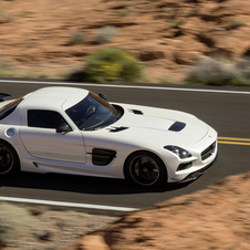 The Black Series is the range topping internal combustion version of the SLS