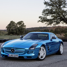 The Electric Drive is technically the power powerful and most expensive version of the SLS