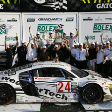 Alex Job Racing gave Audi its first ever 24-Hour GT win in the US