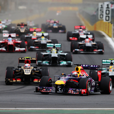 Vettel dominated from start to finish