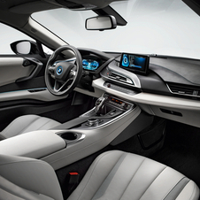The interior allows BMW to pack in all of its modern technology