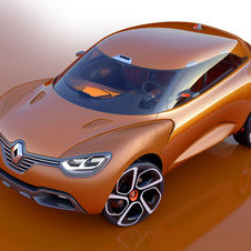 The Captur Concept was a three-door sub-compact crossover