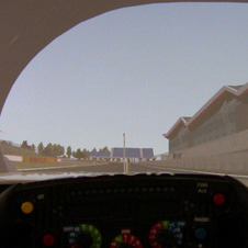 The steering wheel comes from the TS030 to get drivers used to it