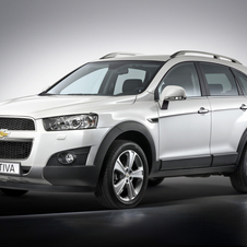 Chevrolet Captiva 2.4 AWD AT