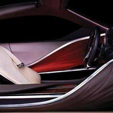 Interior of NAIAS Lexus concept car revealed