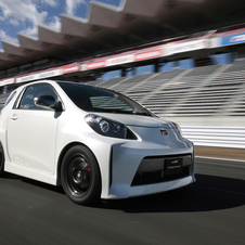 Supercharged Toyota iQ with 128hp is a Super Small Hot Hatch