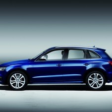 The SQ5 TDI has been dropped 30mm compared to stock