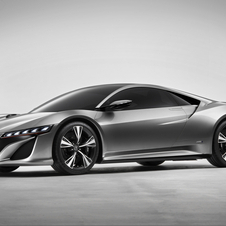 Acura shows preview of future supercar