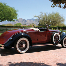 Rolls-Royce Phantom II Henley Roadster in the style of Brewster