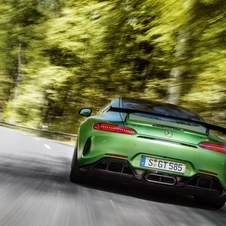 The GT R can reach 100km/h in 3.6 seconds and a top speed of 318km/h