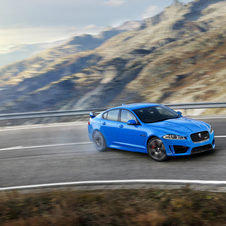 The XFR-S has a supercharged V8 with 543hp and 680Nm of torque