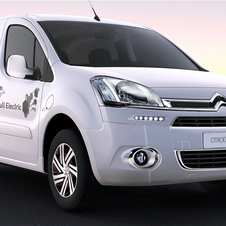 The electric Berlingo will be on sale by the end of the year