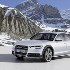 The A6 allroad quattro has also been updated