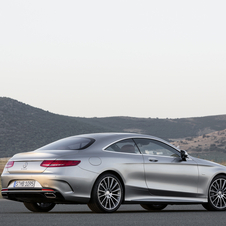 The first version of the S-Class Coupé to be available will be the S 500