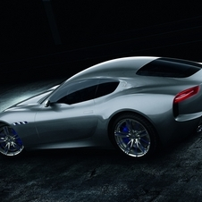 The concept is powered by the same engine in the Granturismo, with 460hp