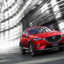 Mazda just revealed that the new CX-3 will be offered with two 2.0-liter petrol engine variants and a 1.5 liter diesel engine