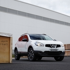 The Qashqai 360 adds Nissan's Around View Monitor to the car