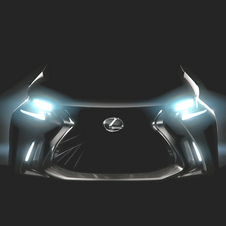 So far Lexus only revealed a darkened image of the LF-SA