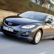Mazda 6 MZR-CD 2.2 163 Exclusive + Pele