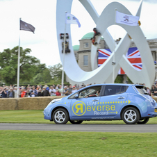 Record au Festival de Vitesse de Goodwood, et battu succèssivement à 5 reprises durant le weekend.