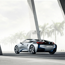 The concept should have a greater focus on technology that can be found in the production version of the i8 Spyder