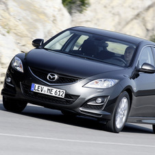 Mazda 6 MZR-CD 2.2 163 Exclusive + Pele & Bose
