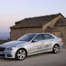 The E300 BlueTEC Hybrid is Mercedes attempt to mix efficiency with luxury