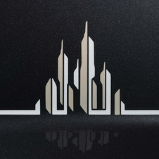 Detail of a skyline on the Phantom Metropolitan Collection
