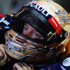 Vettel took pole in his 100th grand prix