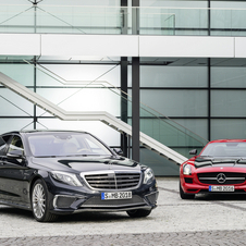 The cars represent the latest output from AMG