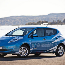 The Leaf is the second best selling Nissan in Norway