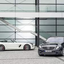 Power remains the same as the current SLS AMG GT