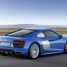 The new R8 will be available with a fairly updated version of the 5.2 liter V10 engine from the first generation