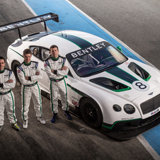 Bentley contratou Guy Smith, Steven Kane e Andy Meyrick para conduzirem o Continental GT3