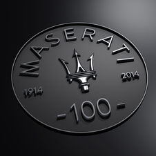 All 2014 Maseratis will carry a special centenary badge