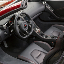 The interior is the same as the MP4-12C