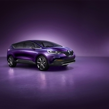 The car echoes the look of the next generation Espace