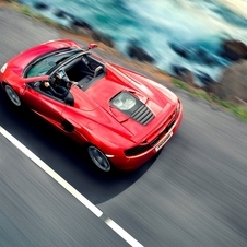 McLaren Reveals MP4-12C Spider with Retractable Hard Top