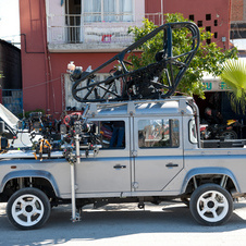 The four door pickup used in the film was also packed with cameras to film certain scenes