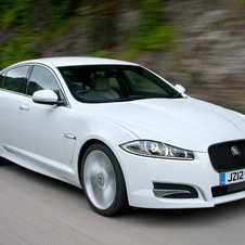 Jaguar still makes up a smaller amount of sales than Land Rover, but it is growing