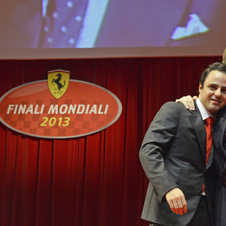 There was also a dinner with him, Luca di Montezemolo and Sergio Marchionne