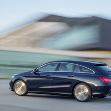 Newcomers to the CLA range are the four-wheel drive CLA 220 4Matic and CLA 180 Shooting Brake