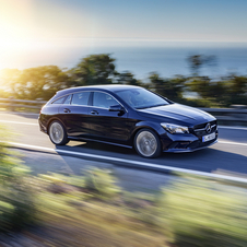 In terms of design the new CLA can be distinguished by a new grille insert featuring diamond-shaped elements