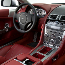 The interior is borrowed from the new Virage