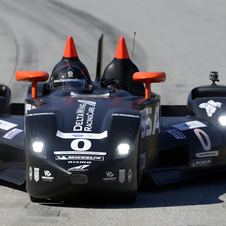 The Deltawing competed just twice this year