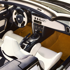 The interior has received an upgrade in quality for the concept
